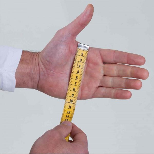 Vorschau: Größe = Breite Handteller in cm