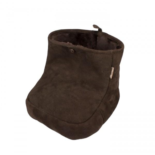 Vorschau: Fußkorb aus Schaffell