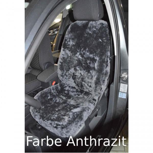VW Touran Lammfell Sitzbezug Sitzbezüge Schonbezug Auto Anthrazit mit  TÜV