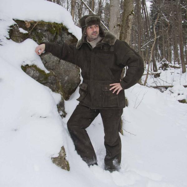 Vorschau: Jagdjacke »Hunter« aus echtem Lammfell